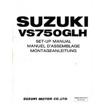 Suzuki  VS750GL (86-91) - Montageanleitung
