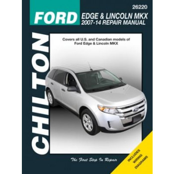 Ford Edge Lincoln MKX (07-13) Reparaturanleitung Chilton