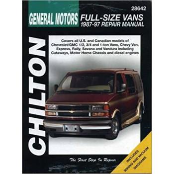 Chevrolet Vans (87 - 97) - Repair Manual Chilton
