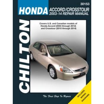 Honda Accord Crosstour (03-12) Reparaturanleitung Chilton