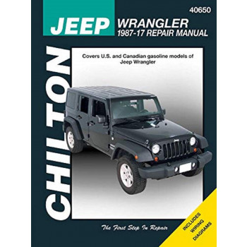 Jeep Wrangler (1987-2017) - Repair Manual Chilton