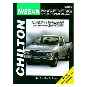 Nissan Pick-Ups and Pathfinder (70 - 88) - Repair Manual Chilton