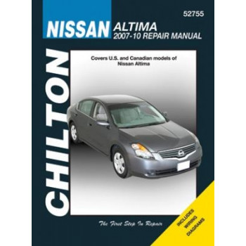 Nissan Altima (2007 - 2010) - Repair Manual Chilton