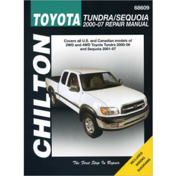 Toyota Tundra and Sequoia (00 - 02) - Repair Manual Chilton