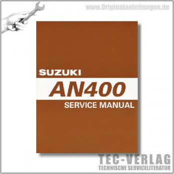 Suzuki AN400 K7 (03-07) - Service Manual