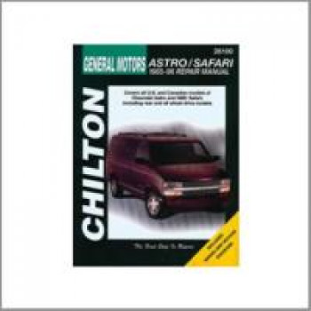 Chevrolet Astro / Safari (85-96) - Repair Manual Chilton