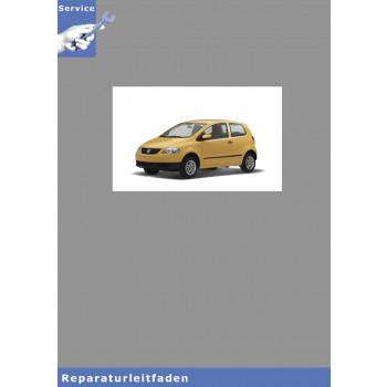 VW Fox, Typ 5Z (04-11) Karosserie- Montagearbeiten Innen - Reparaturanleitung
