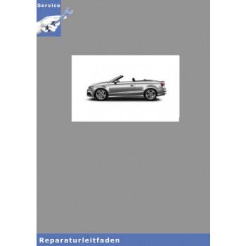 Audi A3 Cabriolet (15>) Karosserie Montagearbeiten Aussen - Reparaturleitfaden
