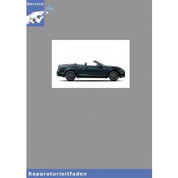 Audi A5 Cabrio (17>) Karosserie Montagearbeiten Außen - Reparaturleitfaden