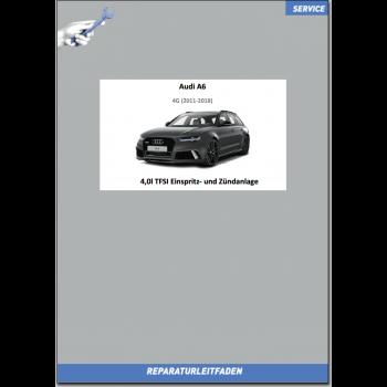 Audi A6 4G (2011-2018) Reparaturleitfaden 4,0l TFSI Einspritz‐ und Zündanlage