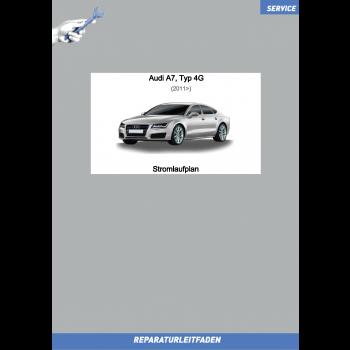 Audi A7 (11>) Reparaturleitfaden Schaltplan / Stromlaufplan