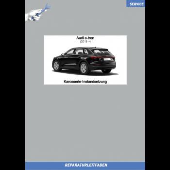 Audi e-tron (2019➤) Reparaturleitfaden Karosserie-Instandsetzung