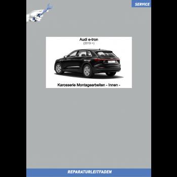 Audi e-tron (2019➤) Reparaturleitfaden Karosserie Montagearbeiten - Innen -