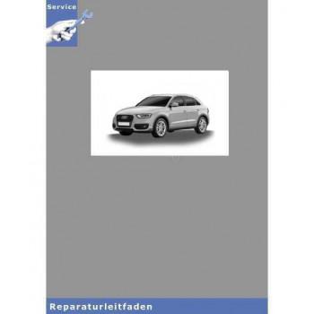 Audi Q3 8U (11>) Fahrwerk Front und Allradantrieb - Reparaturleitfaden