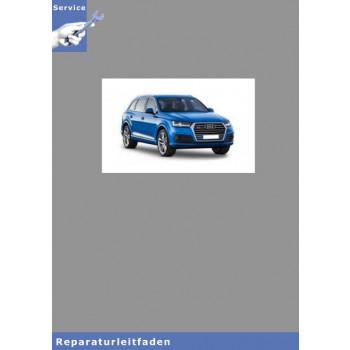 Audi Q7 (16>) Fahrwerk, Front- und Allradantrieb - Reparaturleitfaden