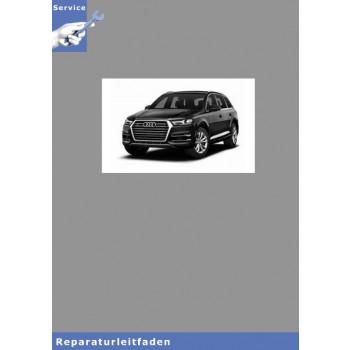 Audi Q5 (17>) Karosserie Montagearbeiten Außen - Reparaturleitfaden