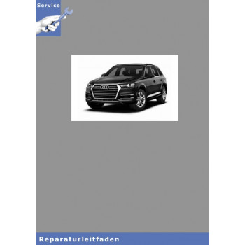Audi Q5 (17>)  6-Zyl 2,9l, 3,0l TFSI - Instandsetzung Reparaturleitfaden