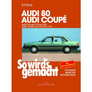 Audi 80 / Audi Coupé B2 (78-87) - Reparaturanleitung So wirds gemacht
