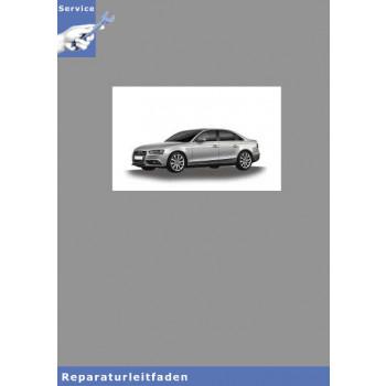 Audi A4 8K (08>) Fahrwerk Front- und Allradantrieb - Reparaturleitfaden