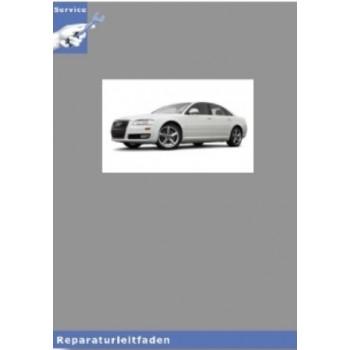 Audi A8 4E (02-10) Fahrwerk Front- und Allradantrieb - Reparaturleitfaden