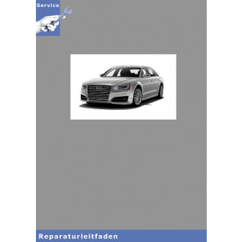 Audi A8 4N (18>) Instandhaltung genau genommen - Reparaturanleitung