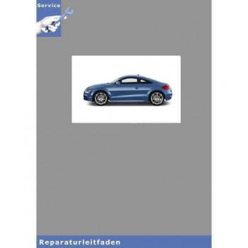 Audi TT 8J (06>) Achsantrieb hinten 02D 0AV 0BR 0BS 0BY - Reparaturleitfaden