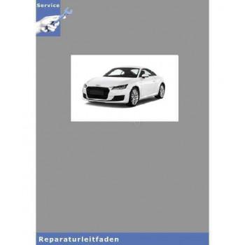 Audi TT 8N (98-06) Karosserie- Montagearbeiten Außen - Reparaturleitfaden