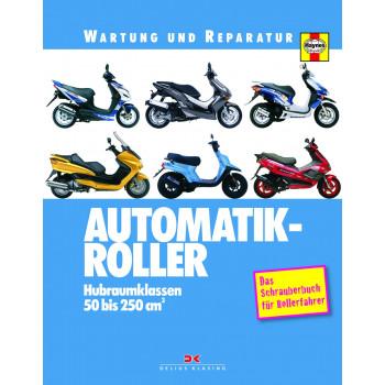 Automatik Roller 50 bis 250 cm3 - Reparaturanleitung Wartung und Reparatur