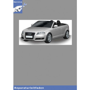Audi A3 Cabriolet Karosserie Montagearbeiten Aussen - Reparaturleitfaden