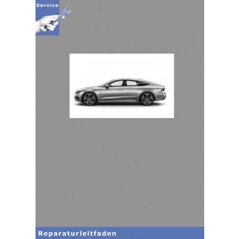 Audi A7 (18>) Fahrwerk Front- und Allradantrieb - Reparaturleitfaden