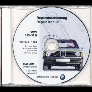 BMW 3er E21 315-323i (75-83) Werkstatthandbuch DVD