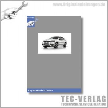 BMW X6 E72 (09-11) Heizung und Klimaanlage - Werkstatthandbuch