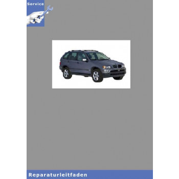 BMW X5 E53 (98-06) Automatikgetriebe - Werkstatthandbuch