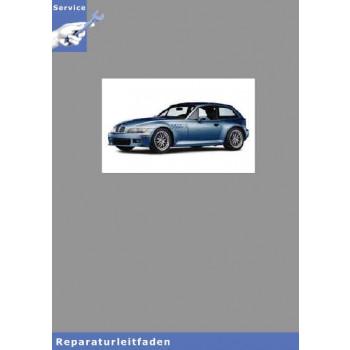 BMW Z3 Coupe (97-02) Werkstatthandbuch Karosserie / Karosserieinstandsetzung