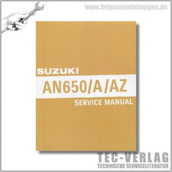 Suzuki AN650/A/AZ (04-12) - Service Manual