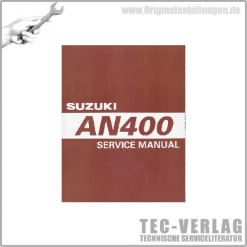 Suzuki AN400 (03-06) - Service Manual