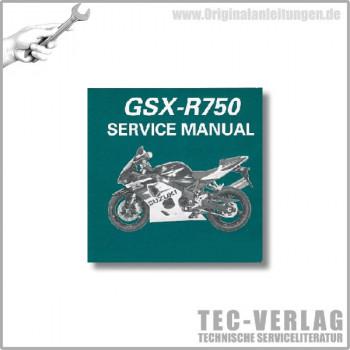Suzuki GSX-R750 K6 (04-05) - Wartungsanleitung - CD