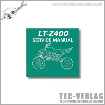 Suzuki LT-Z400 (09) - Service Manual - CD