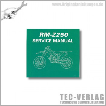 Suzuki RM-Z250 (10) - Service Manual - CD