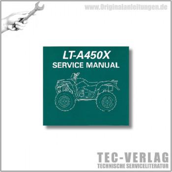 Suzuki LT-A450X (07-10) - Service Manual- CD