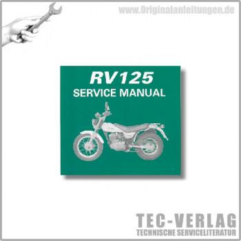 Suzuki RV125 (03-10) - Wartungsanleitung - CD