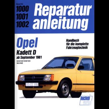 Opel Kadett D  (81>) - Reparaturanleitung Bucheli