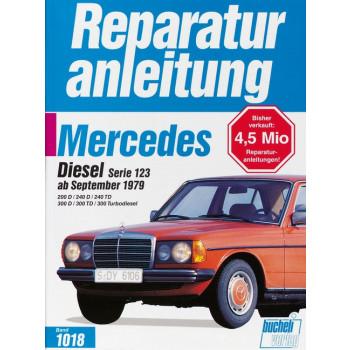 Mercedes W123 Diesel / Turbodiesel (79>) - Reparaturanleitung