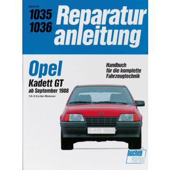Opel Kadett GT (88>) 1.8 / 2.0 Liter- Reparaturanleitung