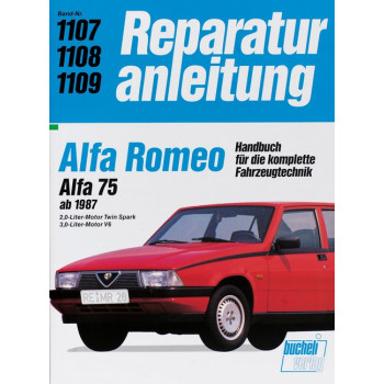 Alfa Romeo 75 (87>) - Reparaturanleitung