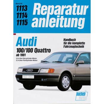 Audi 100 / 100 Quattro C4 (91>) 2.0 / 2.3 L- Reparaturanleitung