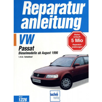 VW Passat B5 1,9 Liter TDI Diesel (1996-2000) - Reparaturanleitung