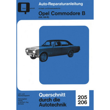 Opel Commodore B GS , GS/E- Reparaturanleitung