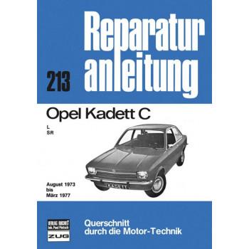 Opel Kadett C (73-77) - Reparaturanleitung Bucheli