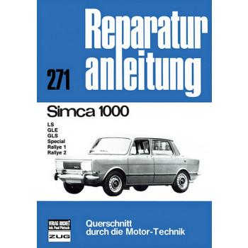 Simca 1000 (61-76) - Reparaturanleitung Bucheli